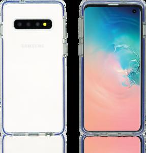 Samsung Galaxy S10 MM Crystal Side Spine Blue