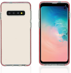 Samsung Galaxy S10 MM Crystal Side Spine Red
