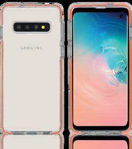 Samsung Galaxy S10 MM Crystal Side Spine Orange
