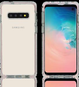Samsung Galaxy S10 MM Crystal Side Spine Pink