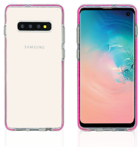 Samsung Galaxy S10 Plus MM Crystal Side Spine Hot Pink