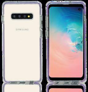 Samsung Galaxy S10 Plus MM Crystal Side Spine Purple