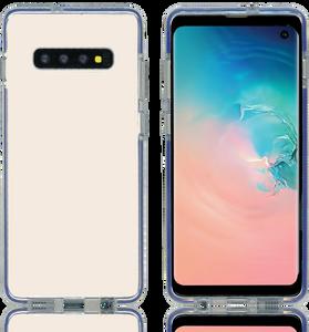 Samsung Galaxy S10 Plus MM Crystal Side Spine Blue