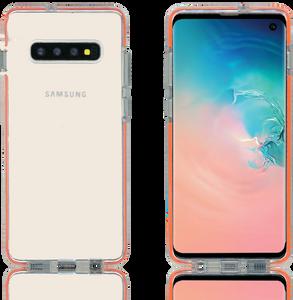 Samsung Galaxy S10 Plus MM Crystal Side Spine Orange