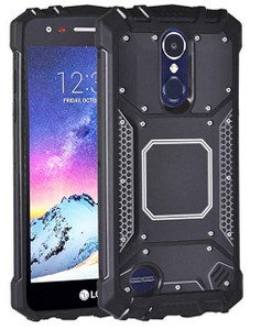 LG Aristo 3+/3/2/EMPIRE Magnetic Rugged Case Black