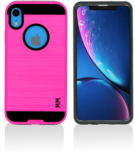 iPhone XR MM Slim Dura Metal Hot Pink