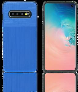 Samsung Galaxy S10 MM Slim Dura Metal Blue