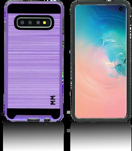 Samsung Galaxy S10 MM Slim Dura Metal Purple