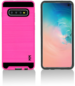 Samsung Galaxy S10 Plus MM Slim Dura Metal Hot Pink