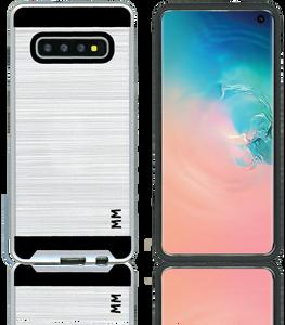 Samsung Galaxy S10 Plus MM Slim Dura Metal Silver