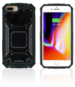iPhone 8+/7+/6+ MM Magnetic Rugged Case  Black