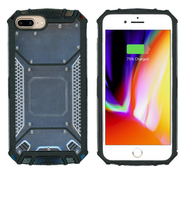 iPhone 8+/7+/6+ MM Magnetic Rugged Case  Gray