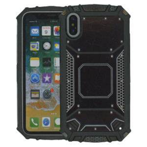 iPhone X/XS MM Magnetic Rugged Case  Black