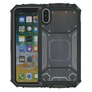 iPhone X/XS MM Magnetic Rugged Case  Gray