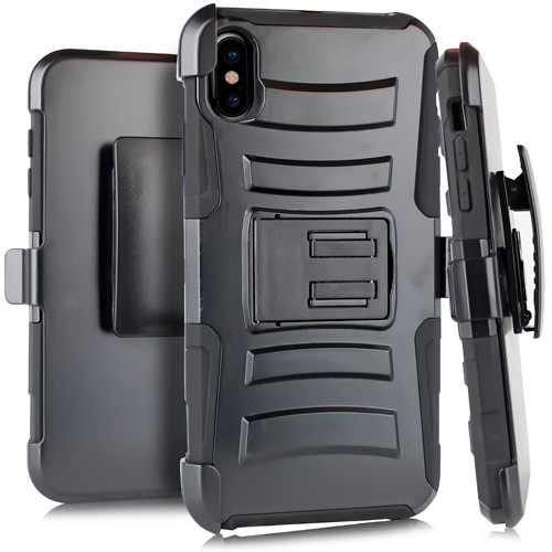 iPhone XR MM 3 in 1 Holster Combo Black