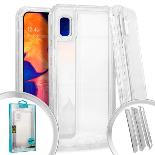 Samsung A10E MM Rugged Hybrid Case Clear