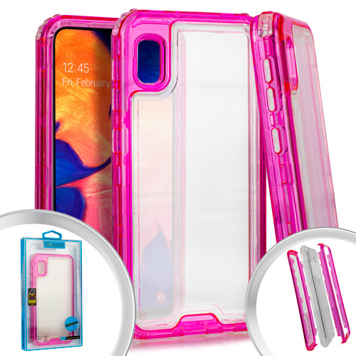 Samsung A10E MM Rugged Hybrid Case Pink