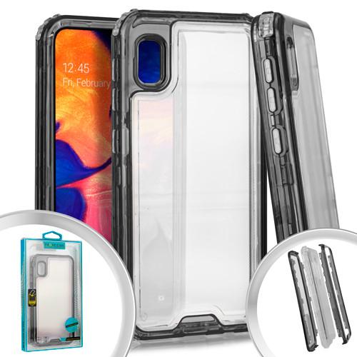 Samsung A10E MM Rugged Hybrid Case Smoke