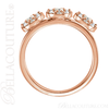 (NEW) BELLA COUTURE COCO Fine Gorgeous Diamond 14K Yellow Gold Ring (1/4 CT. TW.)