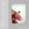 SOLD! - (ANTIQUE) Rare Gorgeous Victorian 14K 14CT Yellow Gold Natural Carved & Polished Natural Coral Ring (Size 6.5)