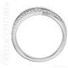 (NEW) BELLA COUTURE ALIA Fine Diamond Organic Woven 14k White Gold Ring