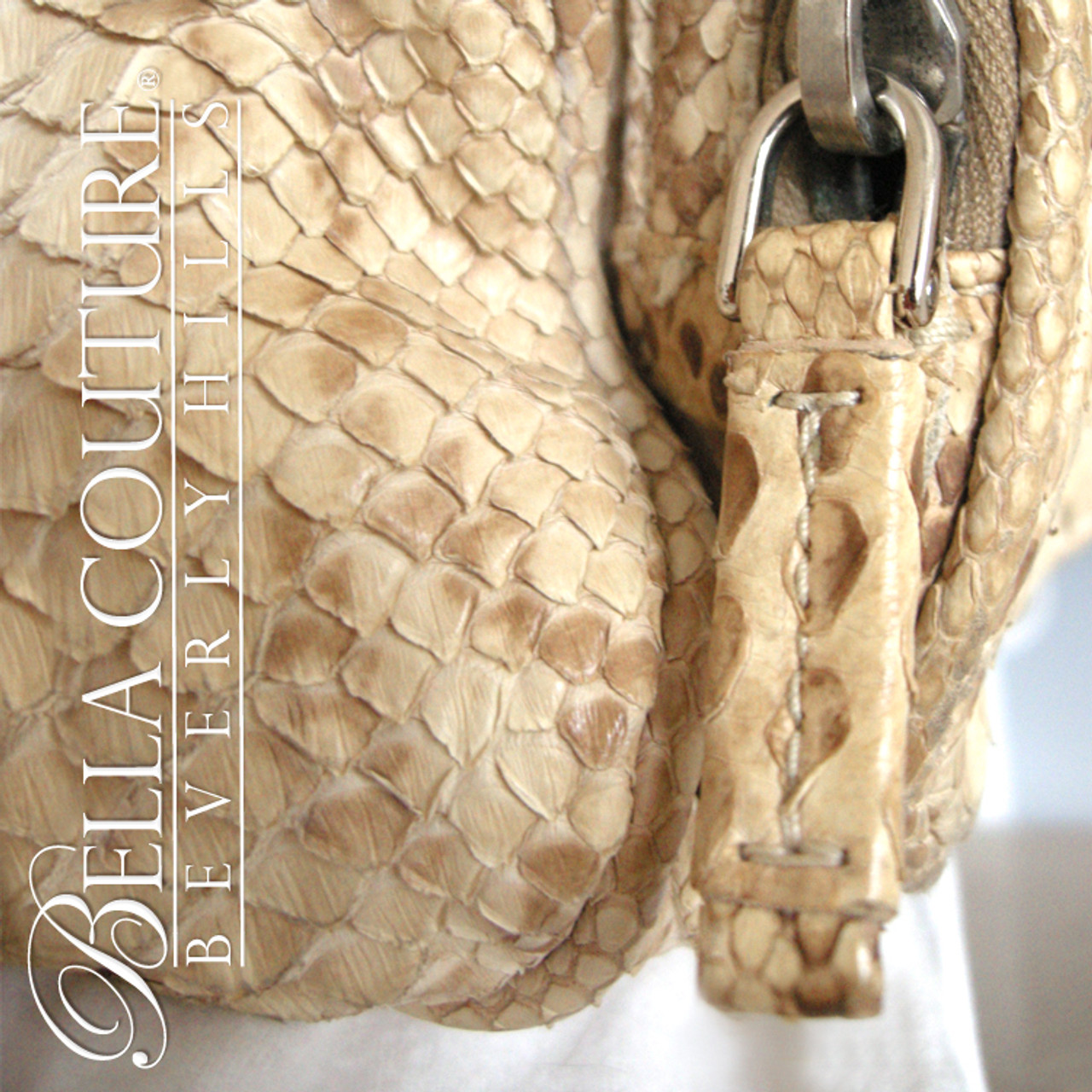 c8bd0ea79d13 ... norway new rare authentic prada beige python snakeskin washed leather  bag tote handbag purse 86c06 1024b