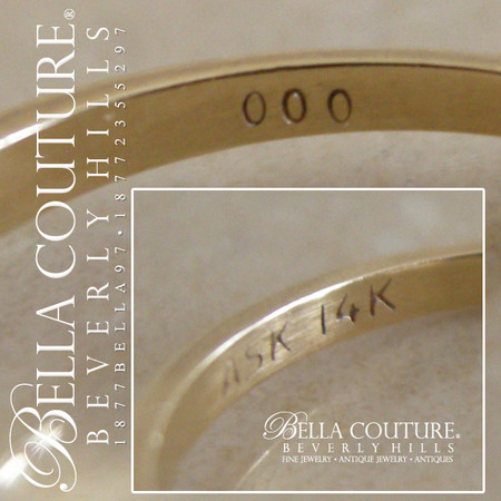 SOLD! - (VINTAGE) Estate Fine 1 5 CT Carat Round Aquamarine Solitaire 14K  Gold Ring