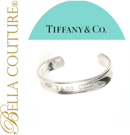 Sold Vintage Tiffany Sterling Silver Bracelet Cuff Fine Jewelry Bella Couture