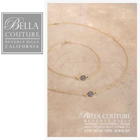 NEW) BELLA COUTURE LUCKY SEVEN Limited Edition Designer Etruscan 14K ...
