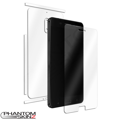 Nokia 6 (2017) self healing screen protection and full body skins by PhantomSkinz