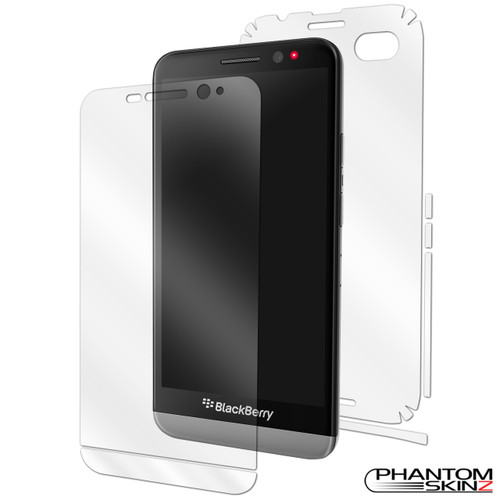 PhantomSkinz BlackBerry Z30 complete full body skin