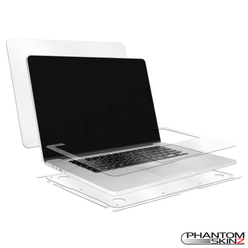 "Apple MacBook Pro 15"" Retina Display (2012-2015) full body protection by PhantomSkinz"
