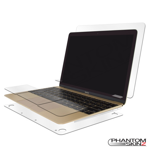 "Apple Macbook 12"" (2015-2017) Full Body Protection by PhantomSkinz"