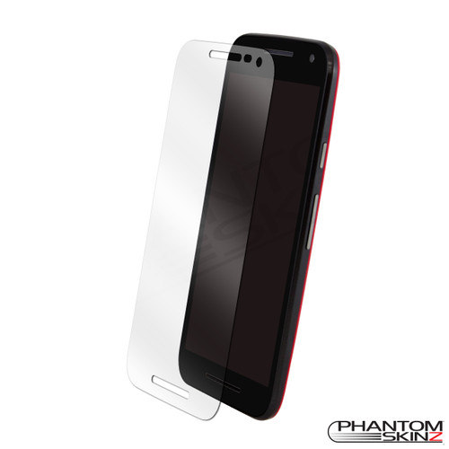Moto G (3rd Gen) screen protection by PhantomSkinz
