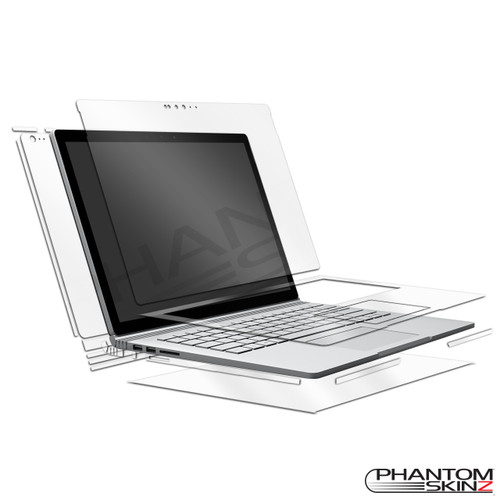 Full Body skins for Microsoft Surface Book by PhantomSkinz