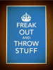 Freak Out Printable