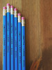 HA HA! Super funny pencils, inspired by funny man, Steve Martin.