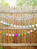 Nantucket Personalized Plaid Tartan Party Garland