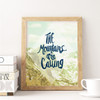 Hand-lettered Art Print by Earmark Social Goods