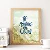 Hand-lettered Art Print by Earmark Social Goods