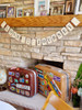 Such a fun garland for any travel-themed event! / earmark social goods