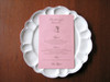 Such darling menus. Perfect for weddings, showers, parties, small gatherings...