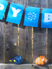 Finding Nemo Style party banner