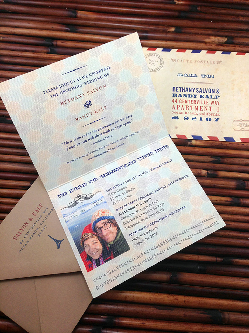 The Wanderlust Passport Invitation Is Perfect For Any Travel Themed