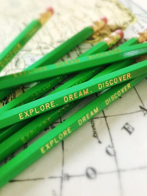 Explore. Dream. Discover. Pencil 6 Pack