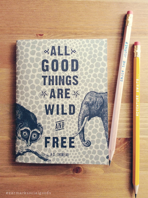 Wild and Free Notebook