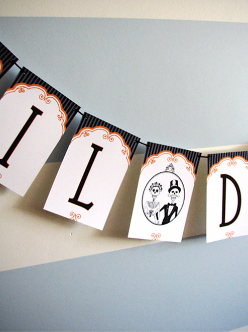 Til Death Wedding Paper Party Banner