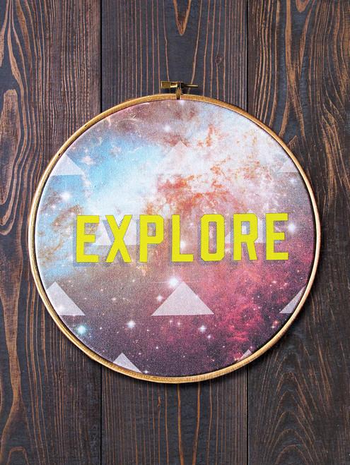 Explore Circular Hoop Art