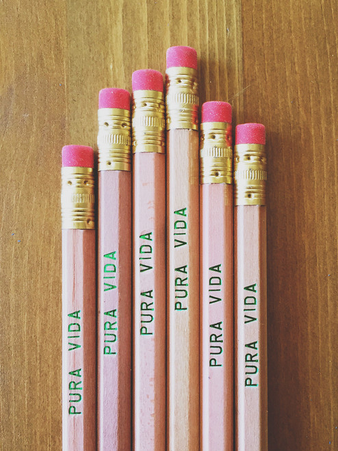 Pura Vida pencil pack by Earmark Social Goods