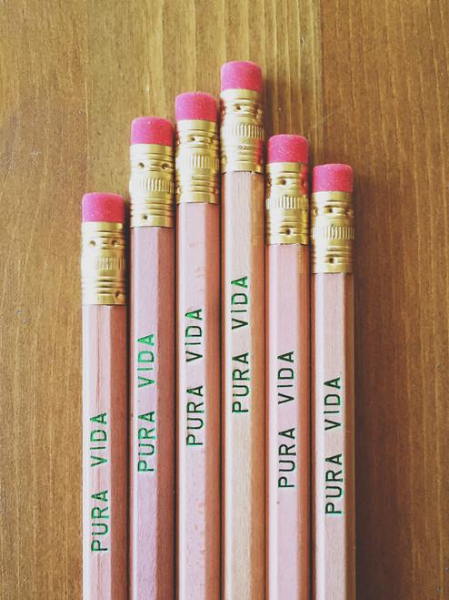 Pura Vida pencil pack by Earmark Social Goods
